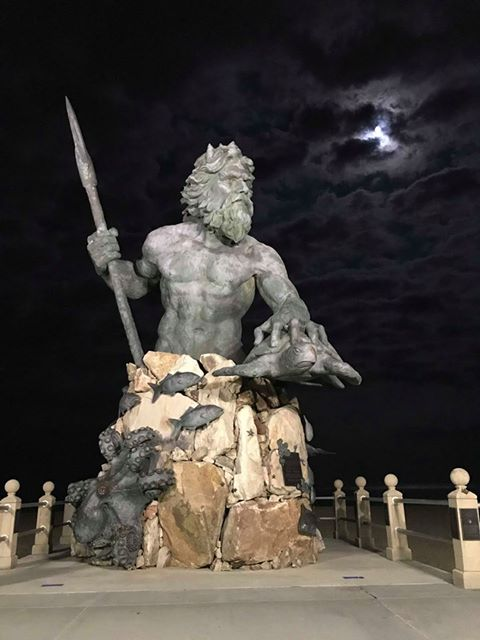 King Neptune Statue In Va Beach
