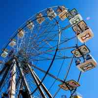 ferris wheel at va beach amusement park