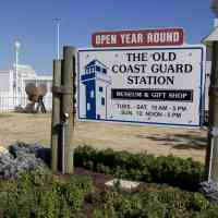 Sign outside the Old Coast Guard Museum in VA Beach