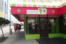 outside of sweet frog va beach