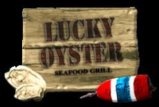 logo of lucky oyster va beach