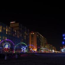 Virginia Beach holiday lights