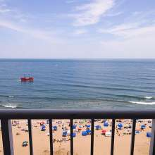 Virginia Beach hotel with Oceanfront view