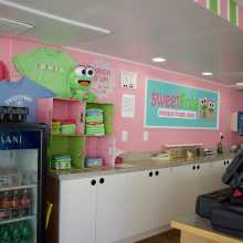 inside of sweet frog in va beach
