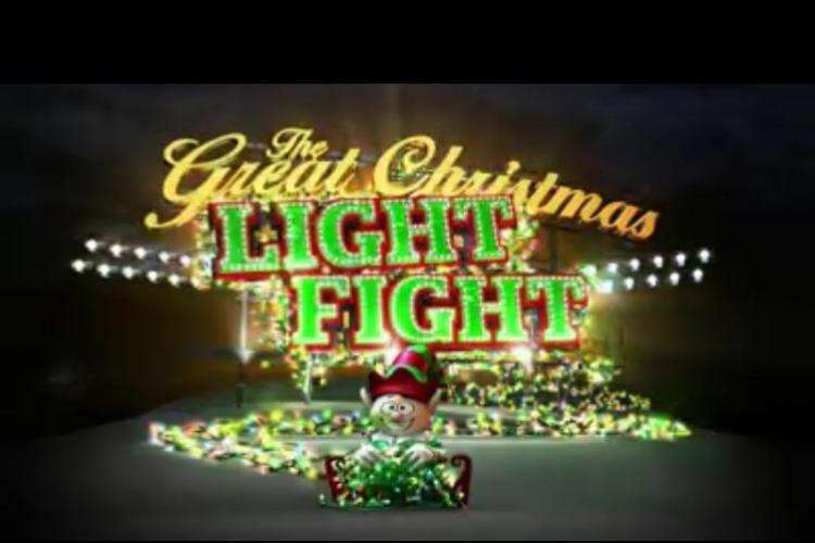 Screenshot from ABC's Great Christmas Light Fight