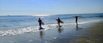 Surfing in Virginia Beach