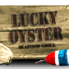 logo of lucky oyster va beach